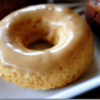Maple Glazed Cinnamon Doughnuts.
