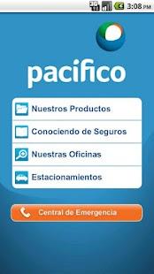 Pacífico Seguros Móvil - screenshot thumbnail