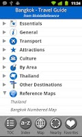 Screenshot of Bangkok, Thailand Guide & Map