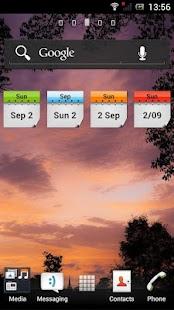 Current Date Widget- screenshot thumbnail