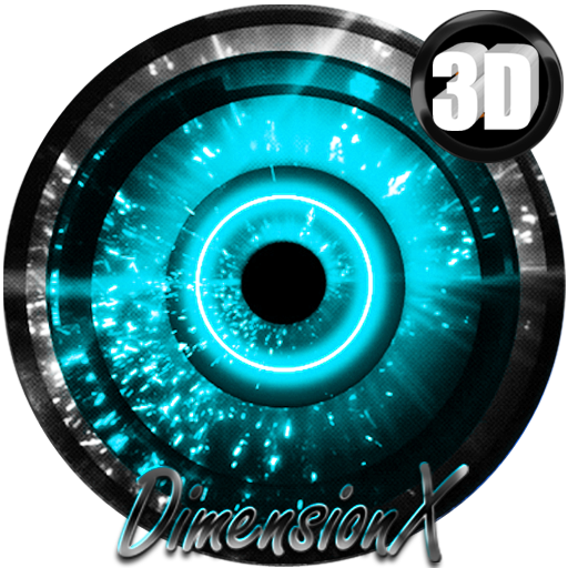 Alien Cyan Next Launcher Theme Android APK Download Free By THAAUS