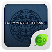 GO Keyboard Snake year theme