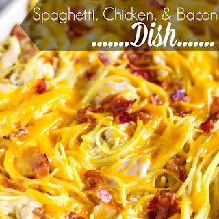Spaghetti, Chicken and Bacon Dish