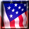 Animated American Flag LWP logo