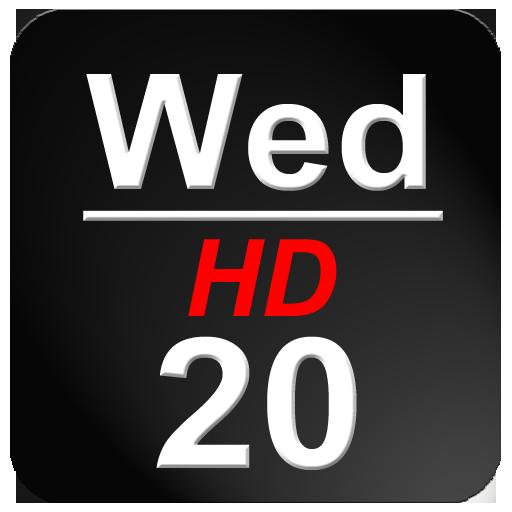 在狀態欄HD日期 生產應用 App LOGO-硬是要APP