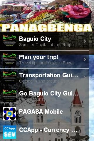 Baguio City App- screenshot