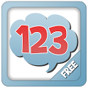 Toddler numbers 123 & counting icon