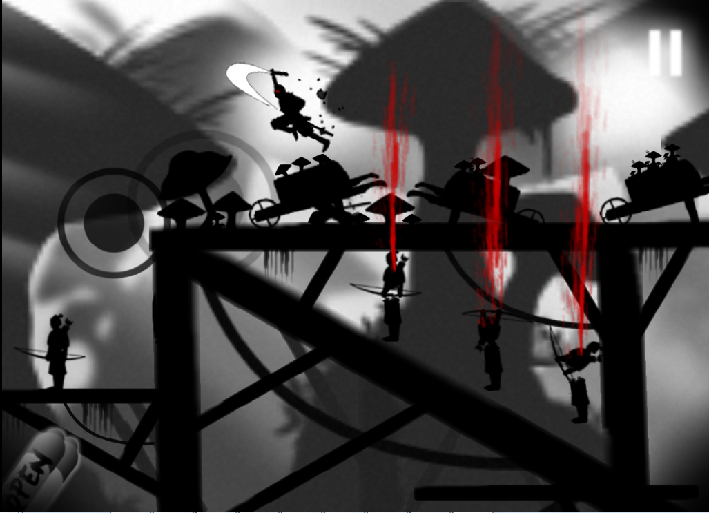 Screenshots of Dead Ninja Mortal Shadow for iPhone
