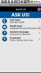 Worthington Libraries- screenshot thumbnail