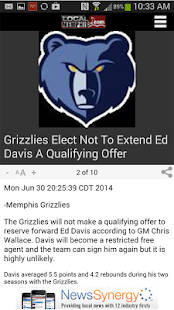 LocalMemphis.com - screenshot thumbnail