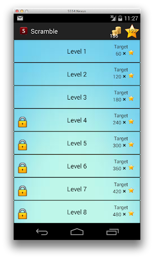 Scramble Challenge
