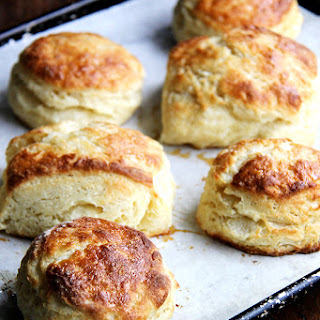 Buttermilk Biscuits with Maple and Sea Salt