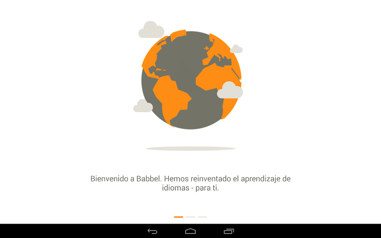 android Apprendre l'anglais - Babbel Screenshot 1