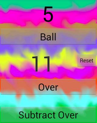 Cricket Ball Counter