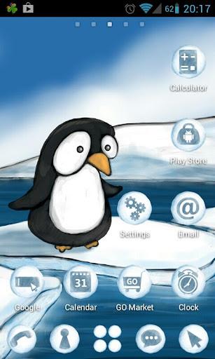 Penguin Theme GO Launcher EX