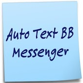 Auto Text BB Messenger