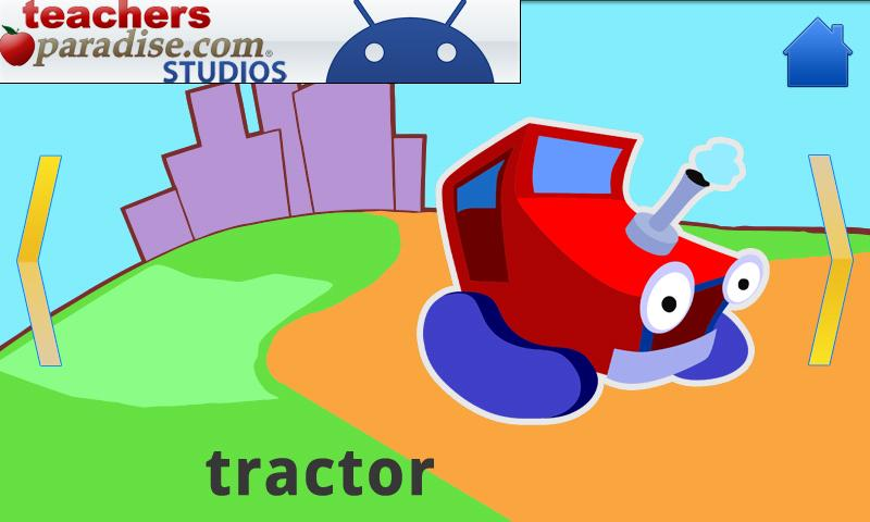 Cars and Trucks! Shape Puzzles - screenshot