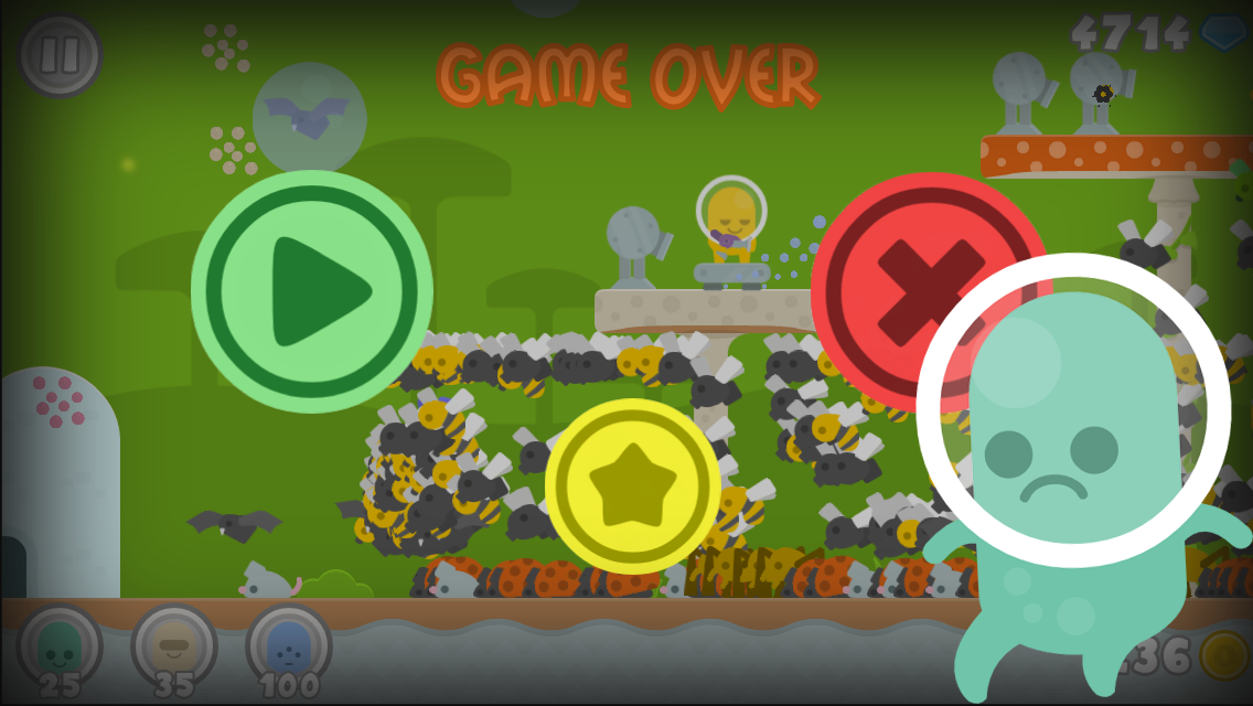 Aliens vs Bugs: TD Strategy- screenshot