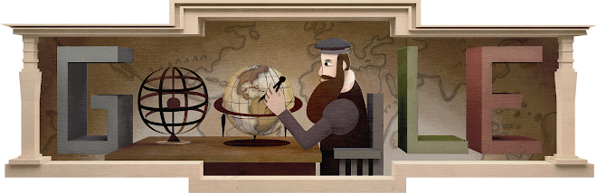 Gerardus Mercator's 503rd Birthday