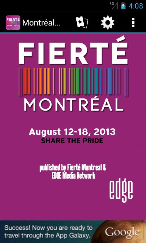 Montréal Pride - screenshot