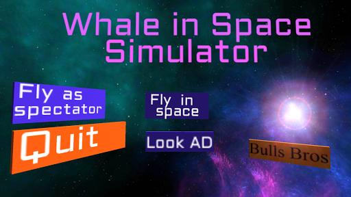 Whale in Space Simulator