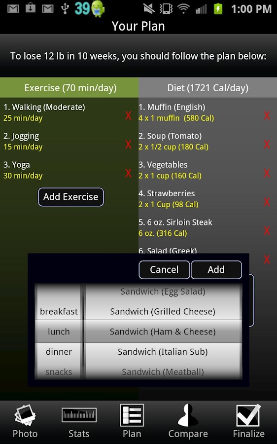Weight Loss- screenshot