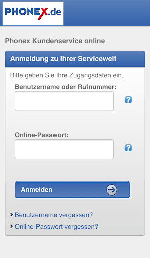 Phonex Servicewelt