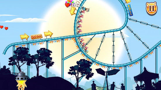 Nutty Fluffies Rollercoaster- screenshot thumbnail