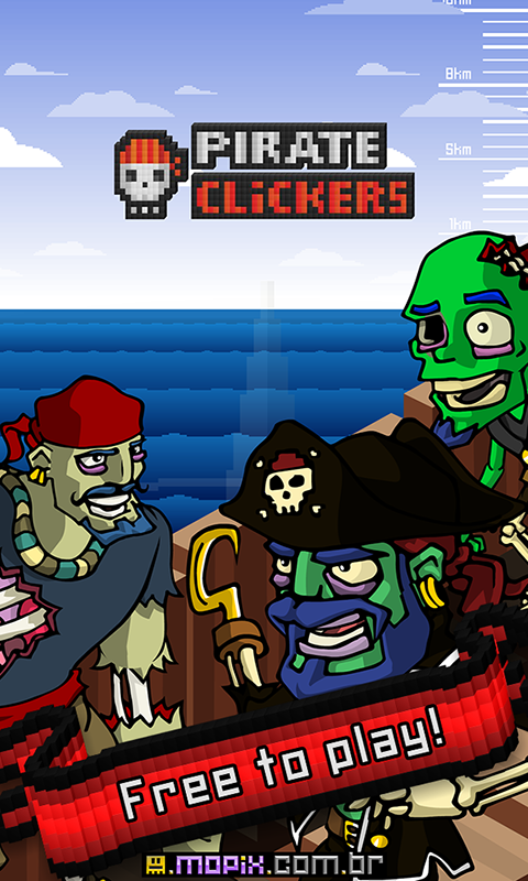 Pirate Clickers - screenshot