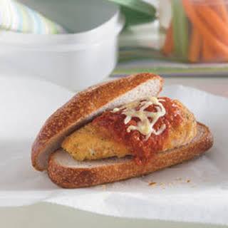 No Frying Chicken Parmesan Sandwiches.