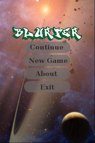 Blurper- screenshot