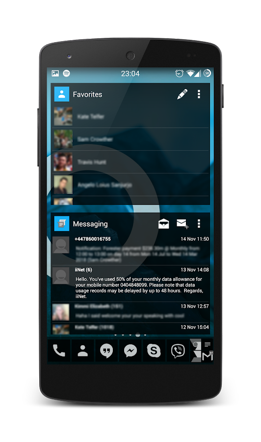 APW Theme 192C Black - screenshot