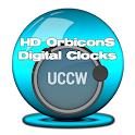 UCCW OrbiconS Digital Clocks icon