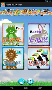 Teach & Try: ABC & 123 (Lite)- screenshot thumbnail