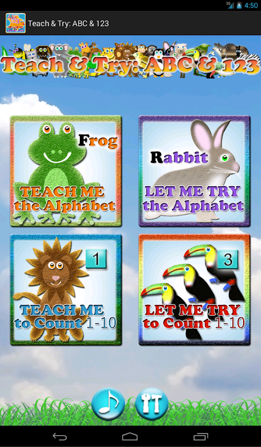 Teach & Try: ABC & 123 (Lite) - screenshot