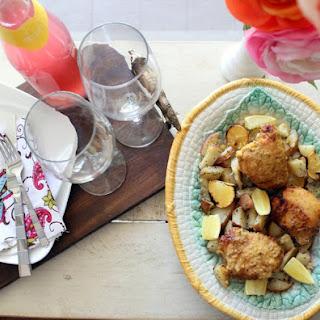 Date Night Hummus and Lemon Chicken Recipe