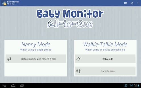 Baby Monitor All-In-One