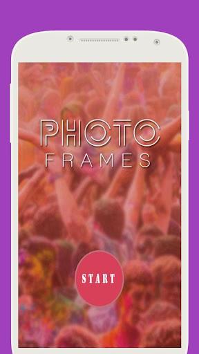 Wine Glass Photo Frame