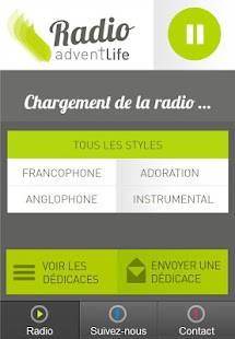 Radio Gospel Adventlife – Vignette de la capture d'écran