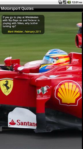 【免費運動App】GP Motorsport Quips and Quotes-APP點子