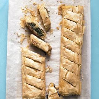 Spinach Phyllo Pie.