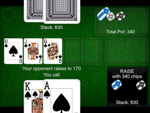 Texas Holdem Poker Card Game