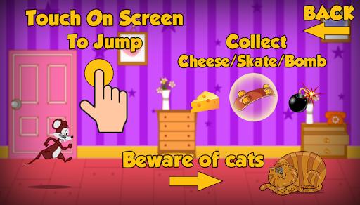 無料冒险Appのチーズに対するラットを実行|記事Game