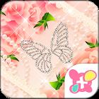 Rose Wallpaper Peach Princess icon