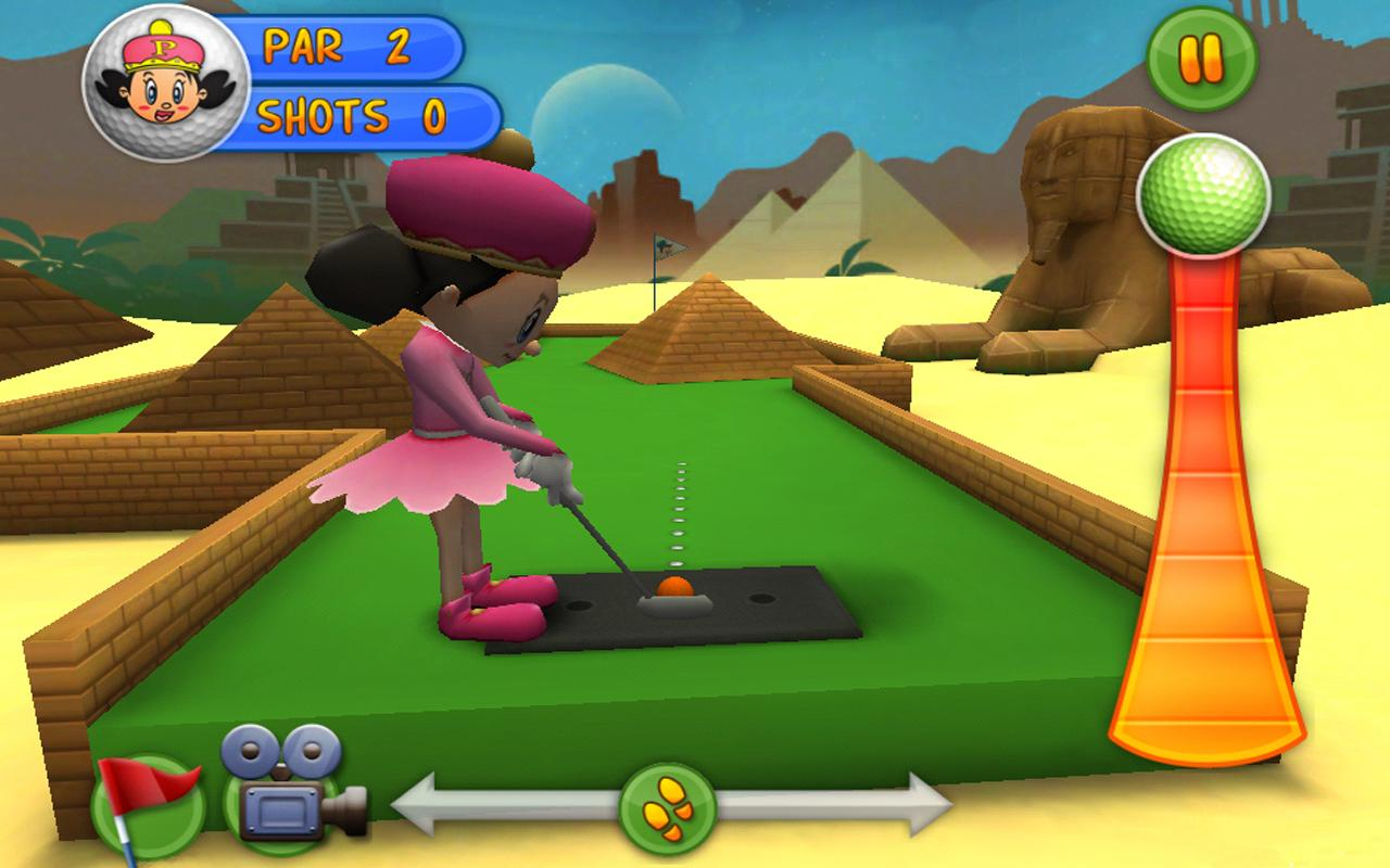 Putter King - screenshot
