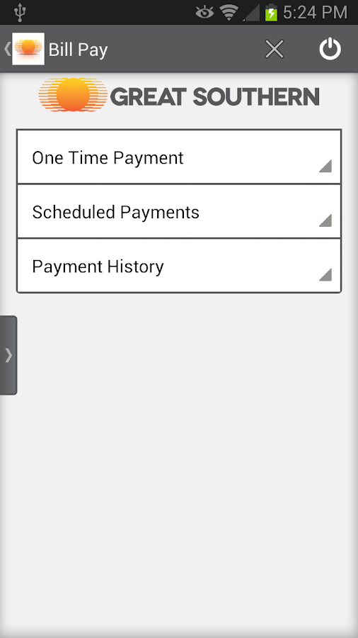 Great Southern Mobile Banking- screenshot
