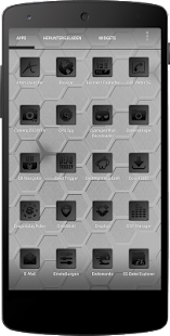 Apex/Nova Semiotik Black Icons- screenshot thumbnail