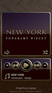 Poweramp Widget NEW YORK