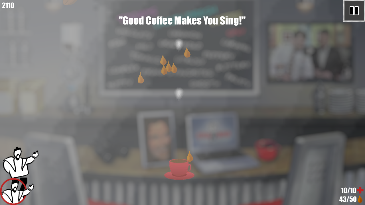 Chazzano Coffee Defender- screenshot