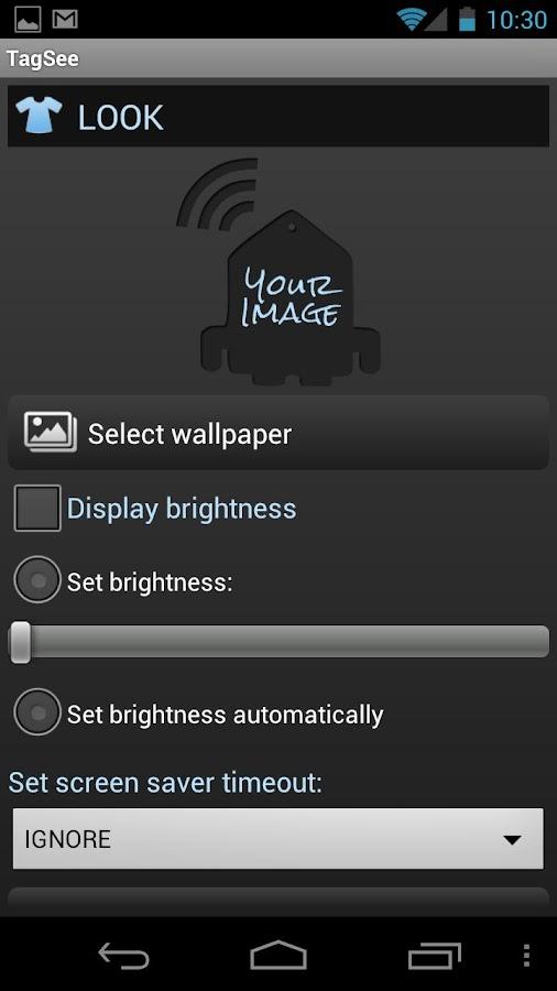 NFC TagSee - screenshot